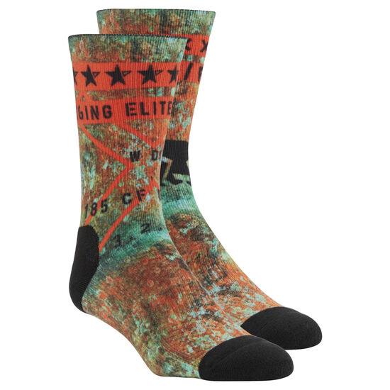 Reebok - Reebok CrossFit Graphic Socks Multicolor/Turquoise CV5993