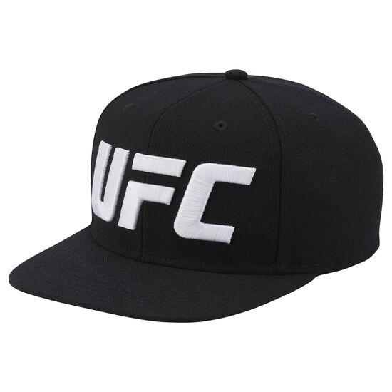 Reebok - UFC Ultimate Fan Flat Brim Snapback Hat Black AL2065