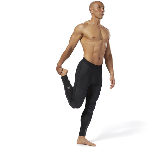 Speedwick Compression Tights Black CY4894