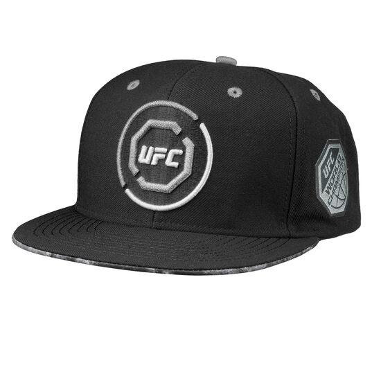 Reebok - UFC Ultimate Fan Flat Brim Snapback Cap Black BW5680
