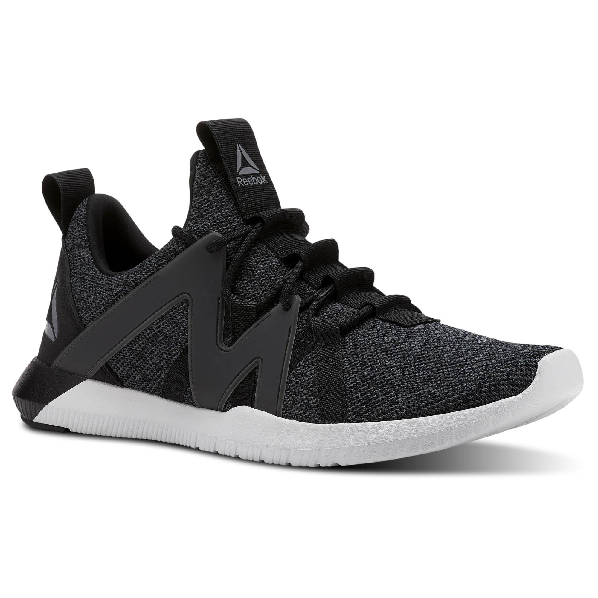 Reebok REAGO TRAIN - Sports shoes - black/grey/porcelain Ra4P6M