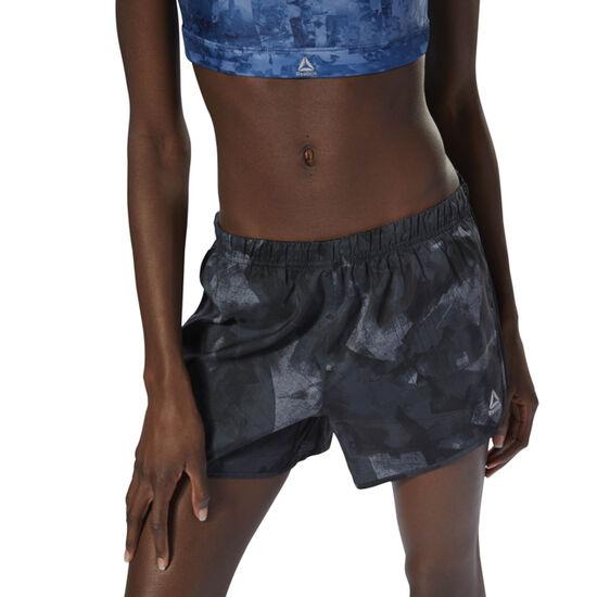 Reebok - Running Woven 1 cms Shorts - AOP Black D78741