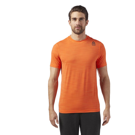 Reebok - Reebok Crossfit Activchill VENT T-Shirt Orange/Bright Lava CD7640