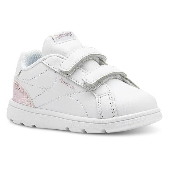 Reebok - Reebok Royal Complete Clean - Infant & Toddler Pastel-White/Practical Pink/Silver CN5067