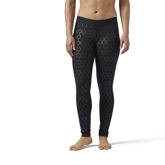 Reebok - HEXAWARM Legging Black BS1828