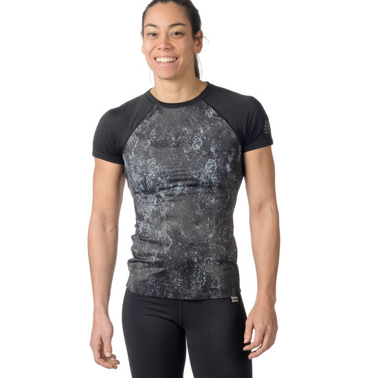 Reebok - Reebok Crossfit Paddle T-Shirt Black CE1861