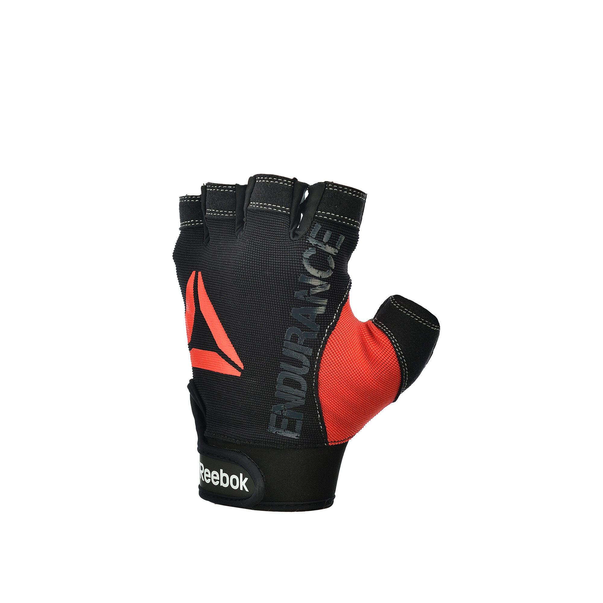 Reebok - Strength Glove - Grey M Black/Red B78748