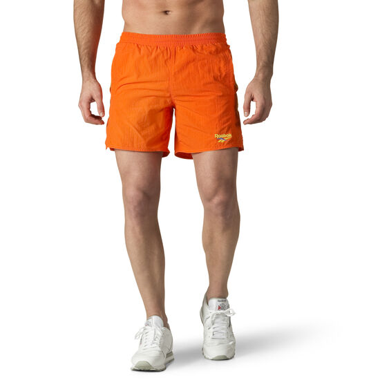 Reebok - Retro Woven Shorts Orange/Bright Lava DN9701