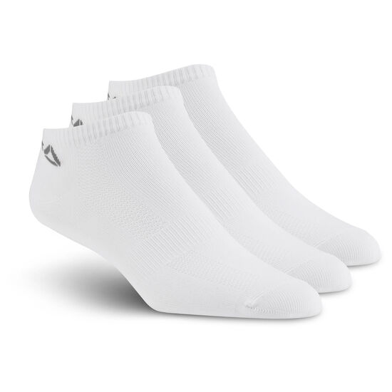 Reebok - Reebok ONE Series Socks - 3pack White/White/White/Tin Grey BP6233