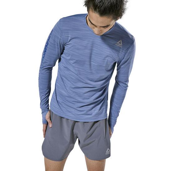 Reebok - Running ACTIVCHILL Long Sleeve Tee Blue Slate D92318