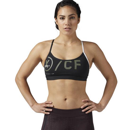 Reebok - Reebok CrossFit Strappy Sports Bra Black BQ5154