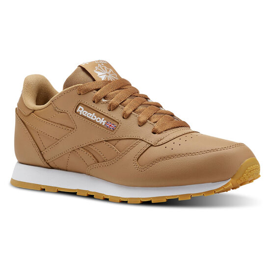Reebok - CLASSIC LEATHER Gum-Soft Camel/White CN5610