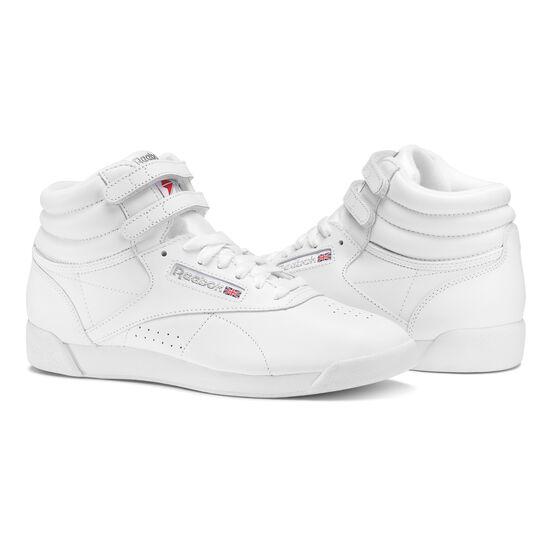 Reebok - Freestyle Hi Intense White/Silver 2431