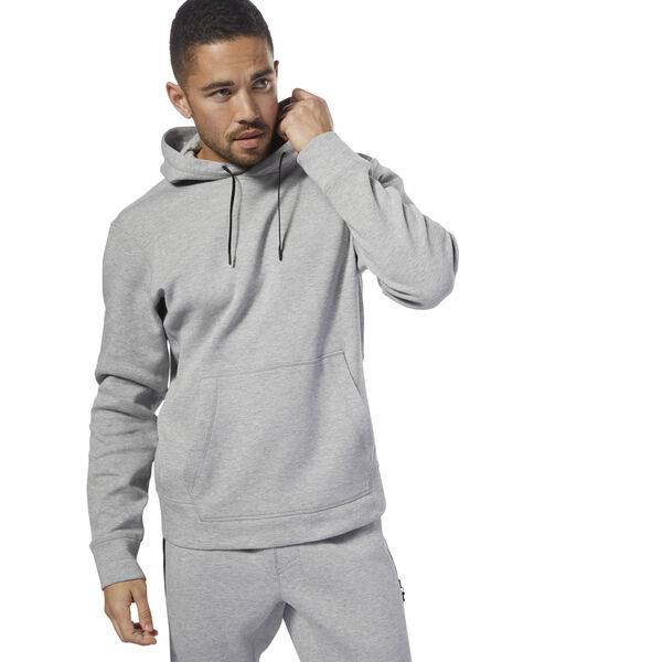 Reebok CrossFit Double Knitted Hoodie Grey CY4959
