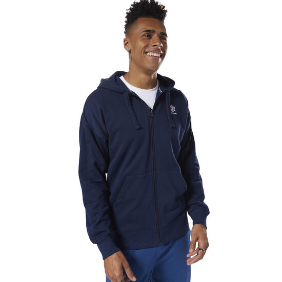 Reebok - Classics Foundation Full-Zip Hoodie Collegiate Navy DH2112