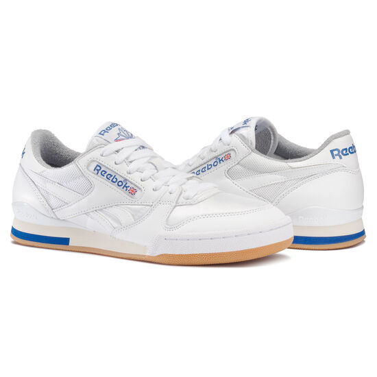 Reebok - Phase I Pro White/Collegiate Royal/Tin Grey/Sandtrap M45028