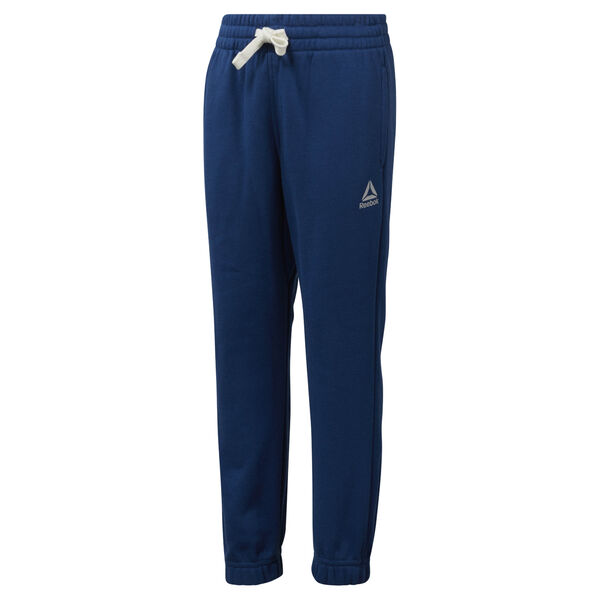 Boys Training Essentials French Terry Pant Blue DM5154