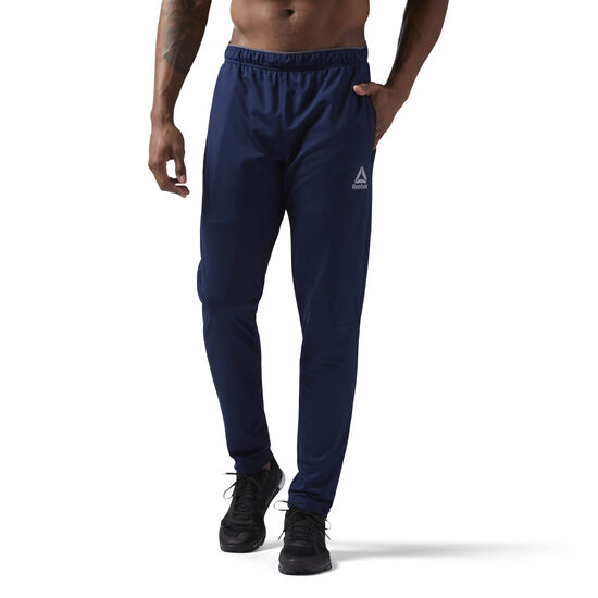 Reebok - Workout Ready Trackster Pant Collegiate Navy/Collegiate Navy CW5030