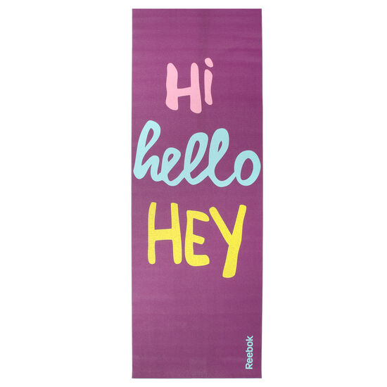 Reebok - Hello 2 Sided Yoga mat Purple AN8016
