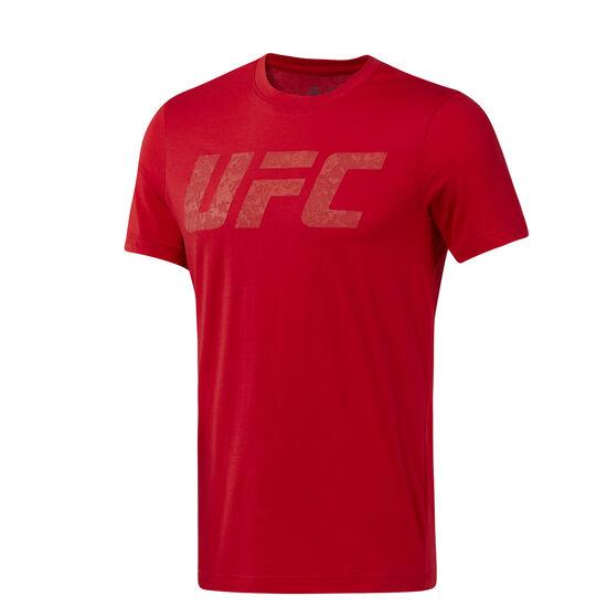 Reebok - UFC Logo Tee Primal Red D95021