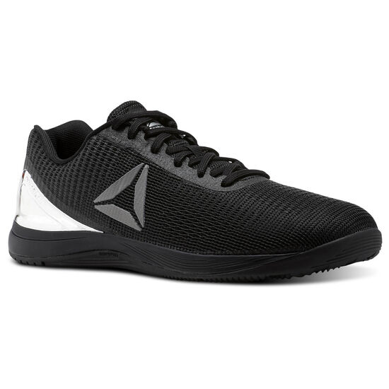 Reebok - Reebok CrossFit Nano 7 Weave Chrome Pack Black/Silver Metallic CM9518