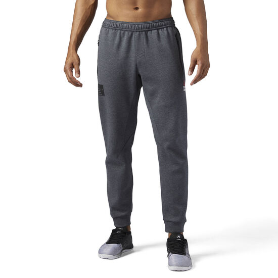 Reebok - Reebok CrossFit Double Knitted Jogger Dark Grey Heather BS1559