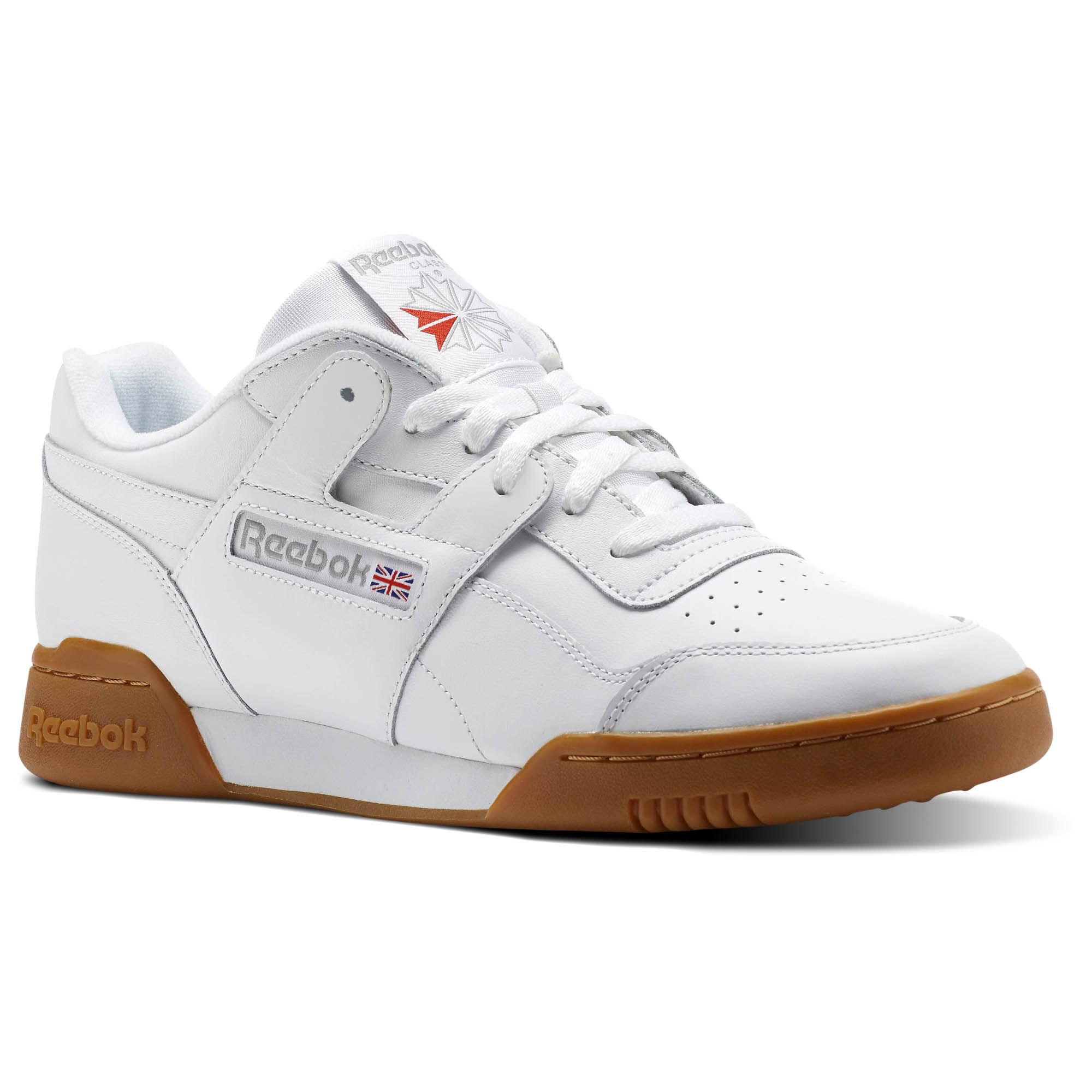 Reebok - Workout Plus White/Carbon/Classic Red/Reebok Royal-Gum CN2126