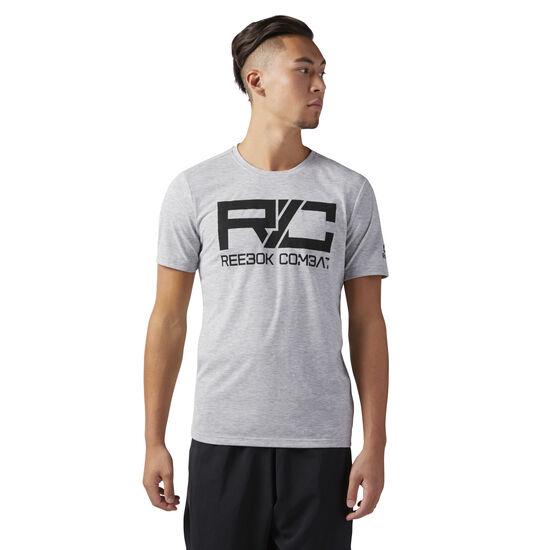 Reebok - Combat Mark T-Shirt Medium Grey Heather CY6124