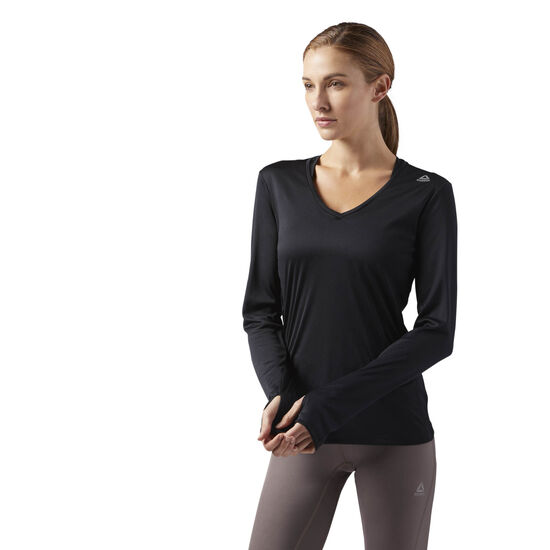 Reebok - Running Essentials Long Sleeve Tee Black CE4613