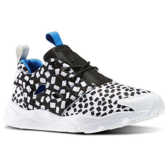 Reebok - Furylite Contemporary White/Black/Blue Sport V69634
