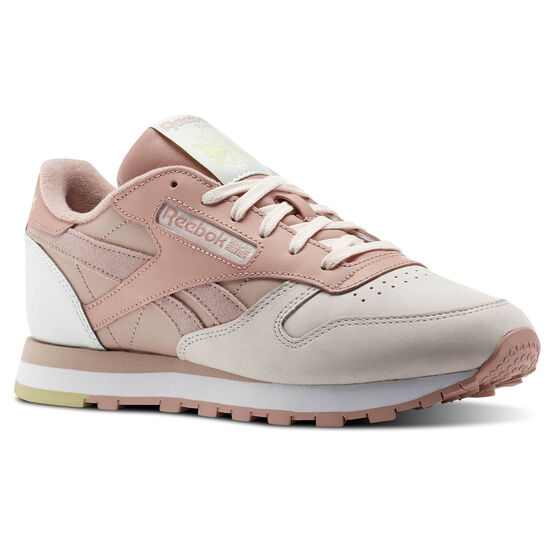 Reebok - Classic Leather PM Pale Pink/Shell Pink/Chalk Pink/Opal CN0361