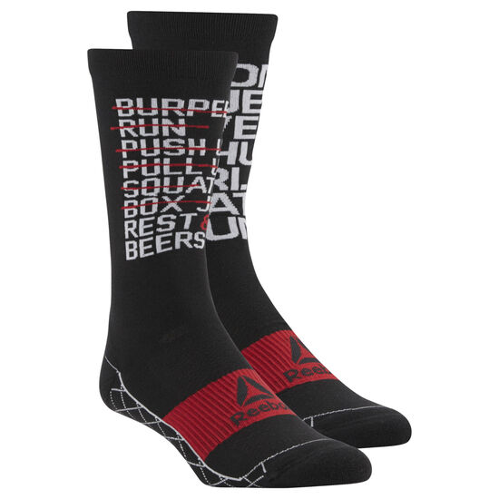 Reebok - COOLMAX® Cushioned Crew Socks Black CE2764