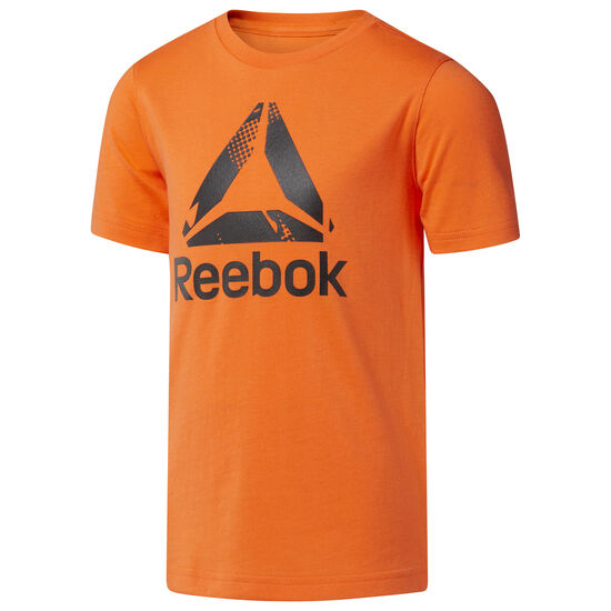 Reebok - Boy's Logo Tee Orange/Bright Lava CF4263