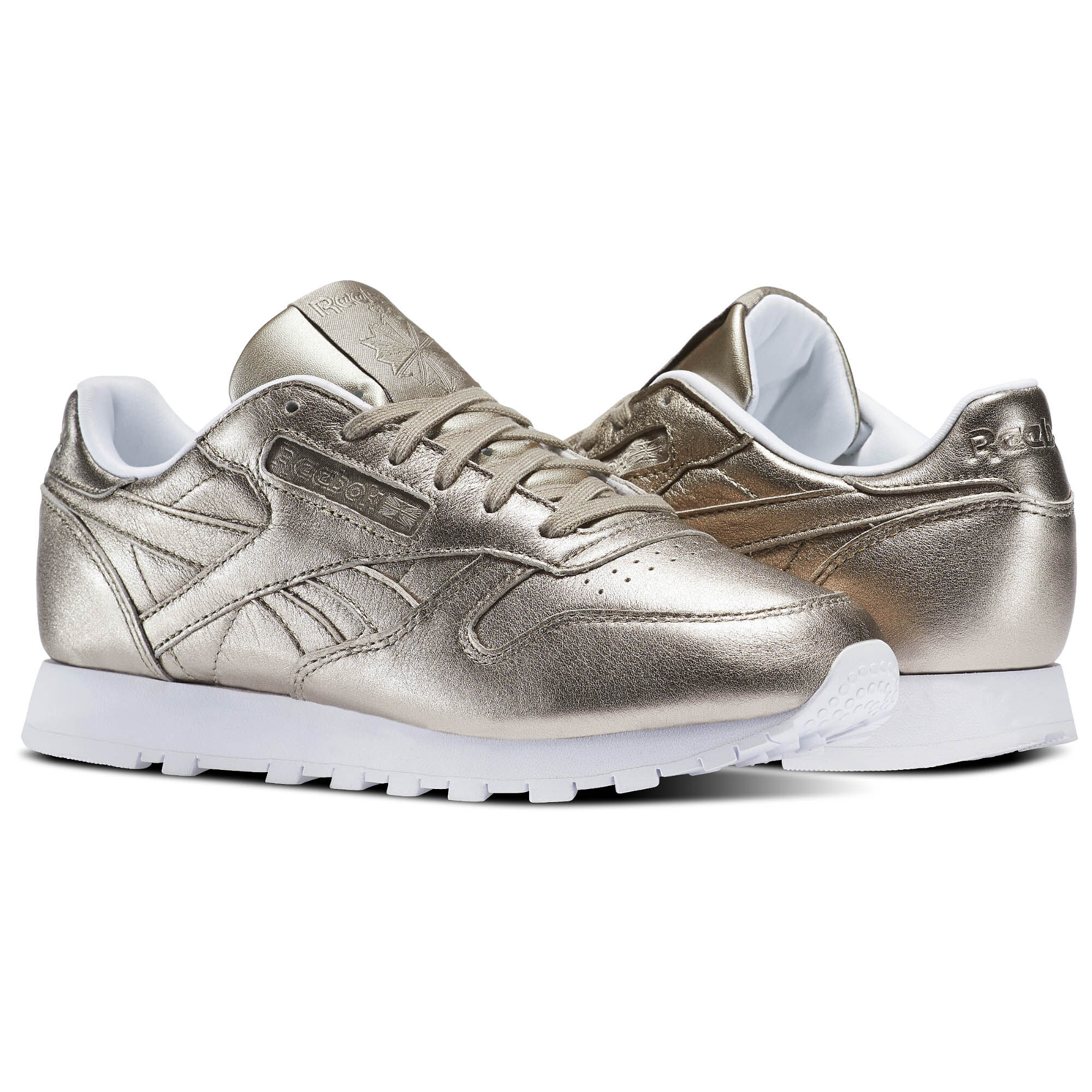 Reebok - Classic Leather Melted Metals Pearl Met-Grey Gold/White BS7898
