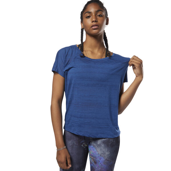 Burnout Tee Blue D93853