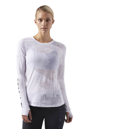 Reebok - LES MILLS Long Sleeve White CD6201