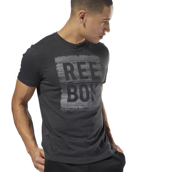 Reebok - Reebok Strata Tee Coal DH3751