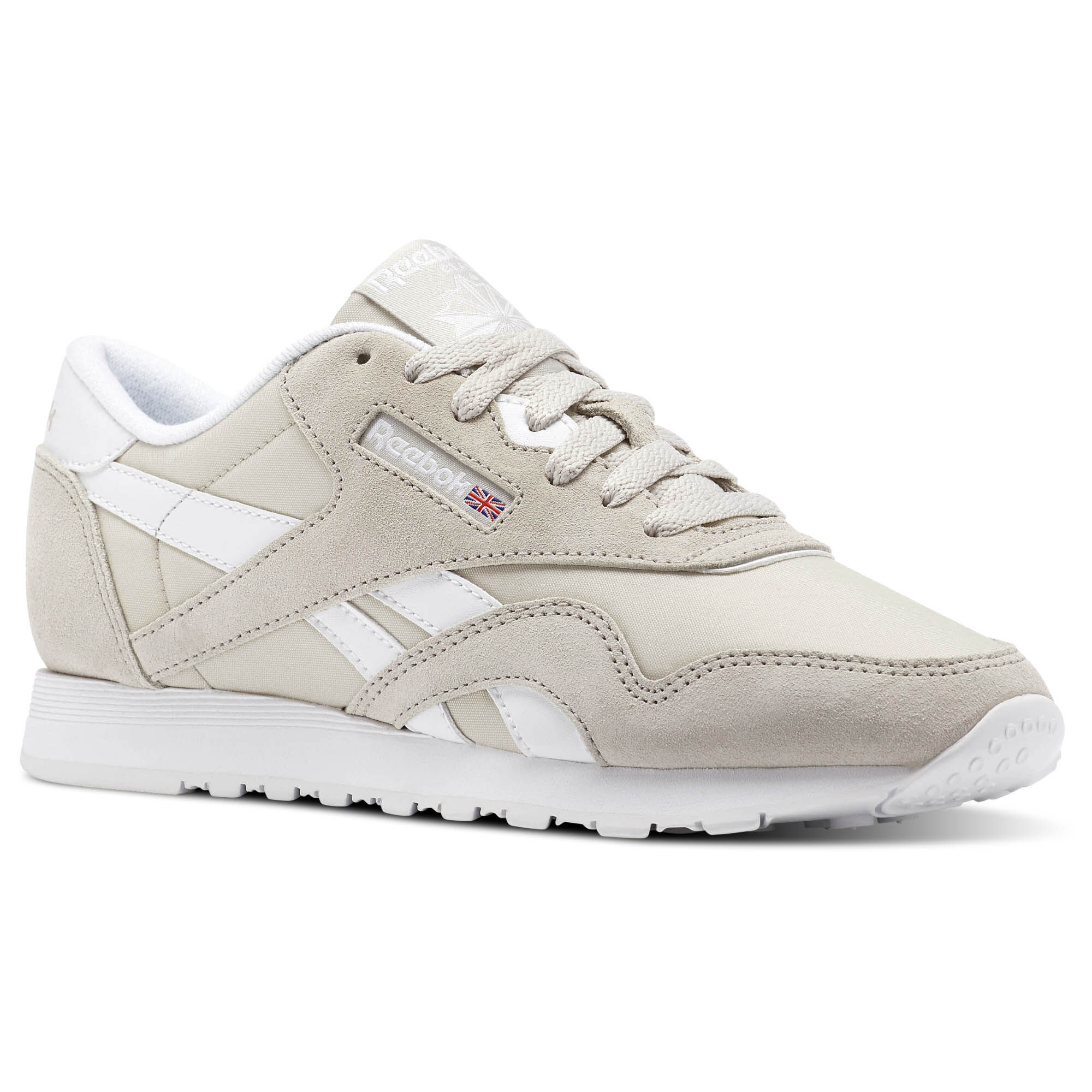 Reebok Sneaker Frauen Classic Nylon Neutral in grau
