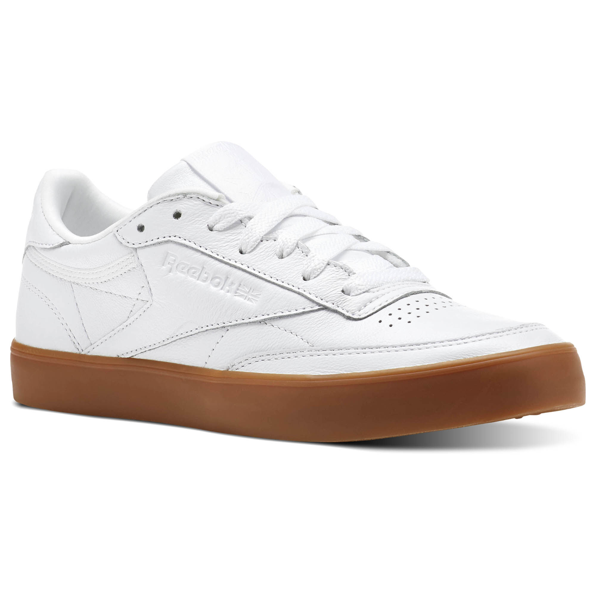 discount wholesale price discount best Reebok Classic Club C 85 Trainers In White And Gum jOixw