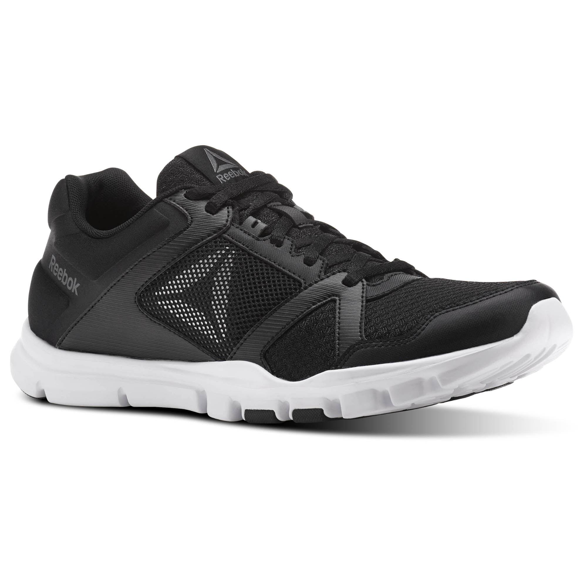Schuhe Reebok - Yourflex Train 10 Mt BS9884 Black/White/Alloy tl9Vt0m