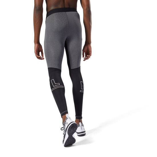 Reebok - Speedwick Compression Tights Dark Grey Heather DJ2220