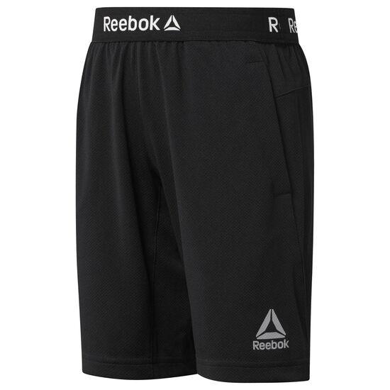 Reebok - Boys Workout Ready Shorts Black CG0317