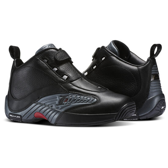 Reebok - Answer IV Black/Rivet Grey/Excellent Red V44961
