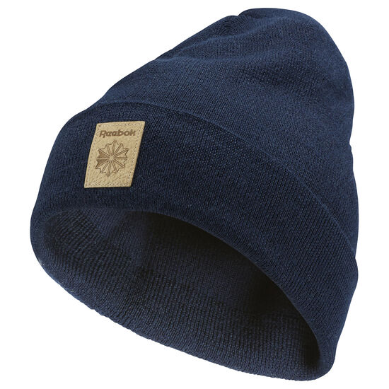 Reebok - Classics Foundation Beanie Collegiate Navy / Excellent Red CD1376