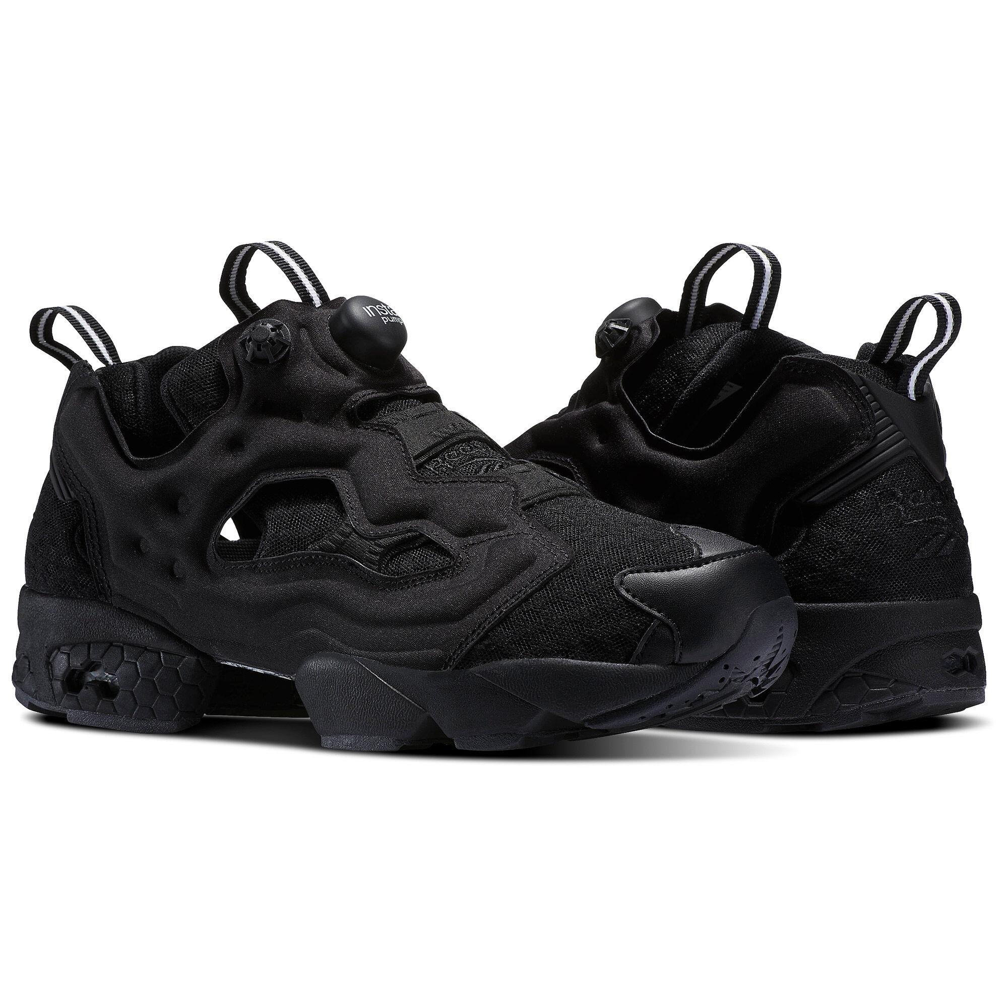 Versus Black Reebok Edition Instapump Fury Sneakers nwrRVcp
