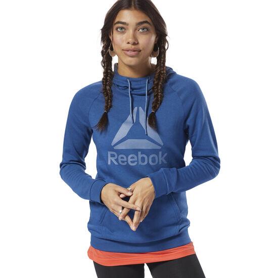 Reebok - Workout Ready Logo Hoodie Bunker Blue / Blue Slate D95470