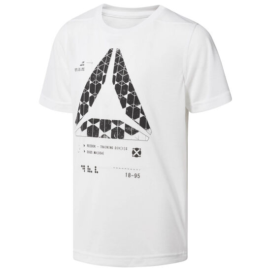 Reebok - Boys Graphic Tee White CF4198
