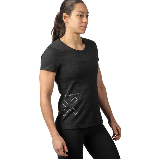 Reebok - Reebok CrossFit SPEEDWICK T-Shirt Black Melange CD6448