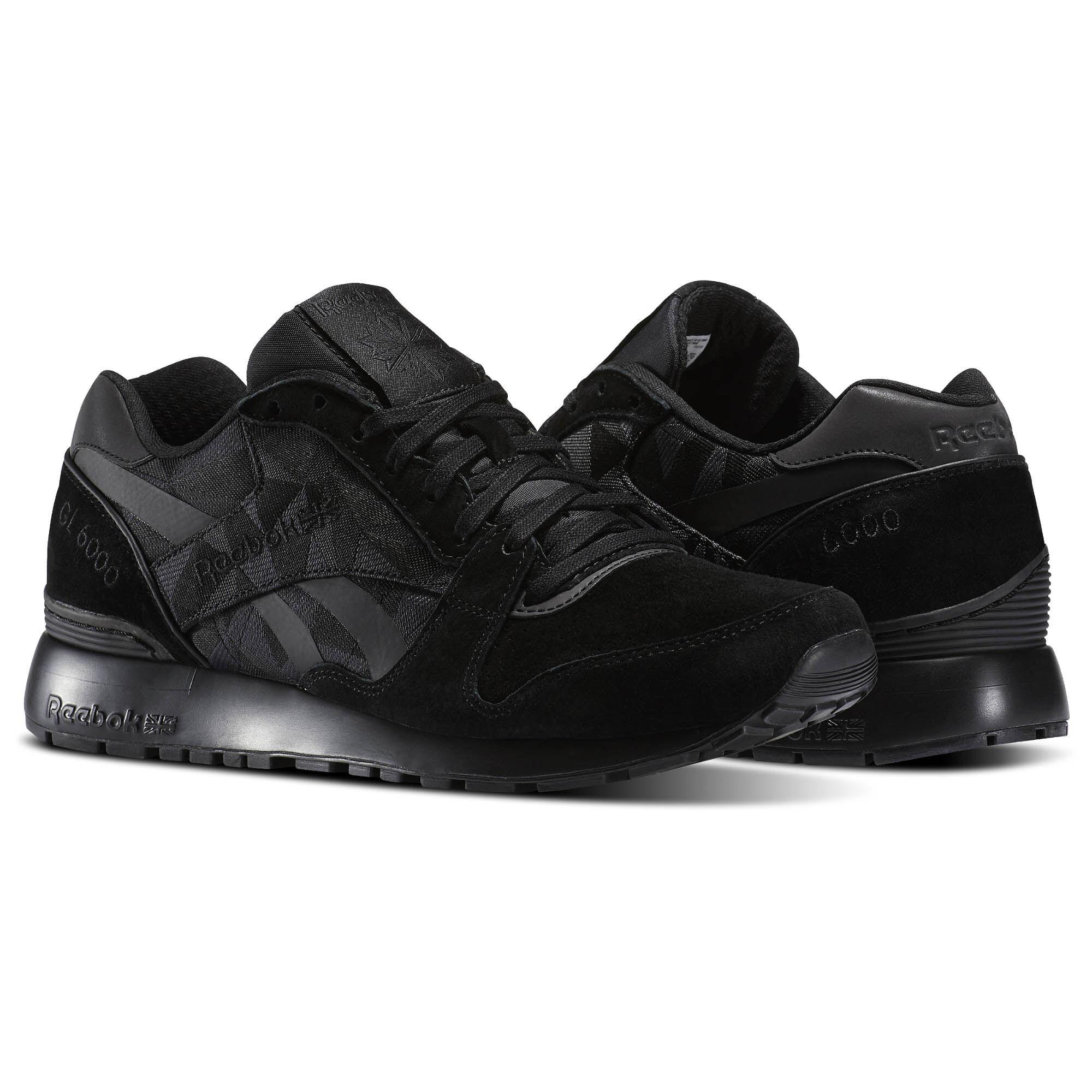 reebok gl 6000 bi black coal white bs6360