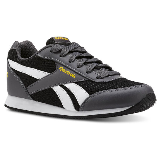 Reebok - Reebok Royal Classic Jogger 2.0 Mesh-Black/Ash Grey/Fierce Gold CN4950